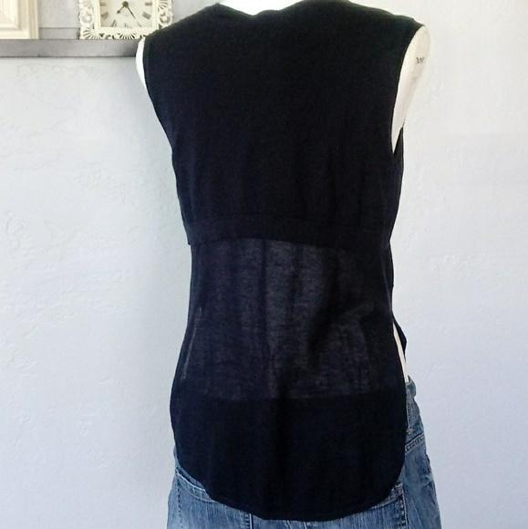ce0939fe160f Autumn Cashmere Tops | 100 Cotton Hi Lo Sheer Back Tank | Poshmark